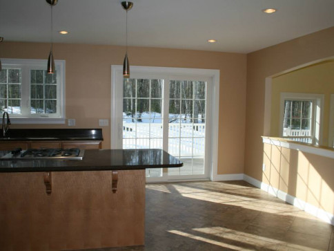 Beautiful kitchen for new construction